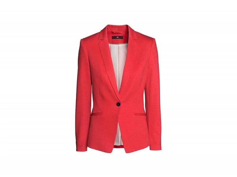 blazer rosso hm
