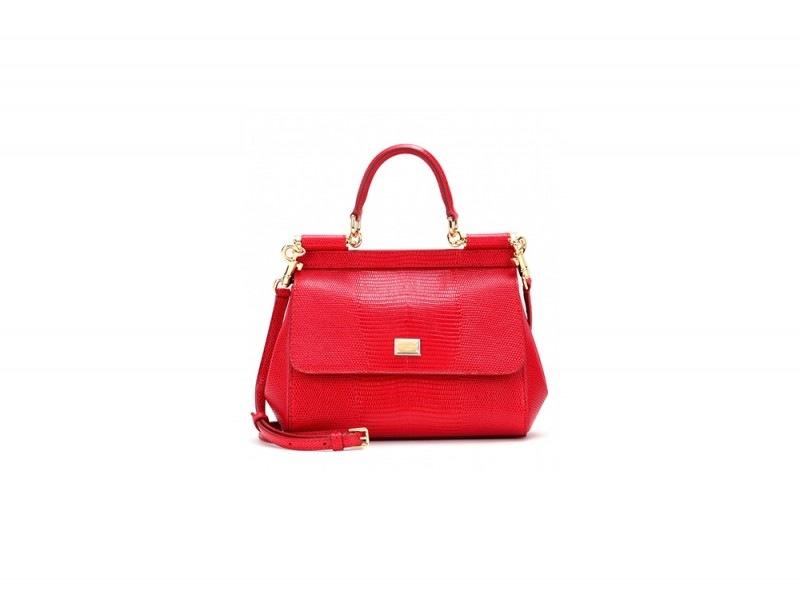 borsa rossa dolce gabbana