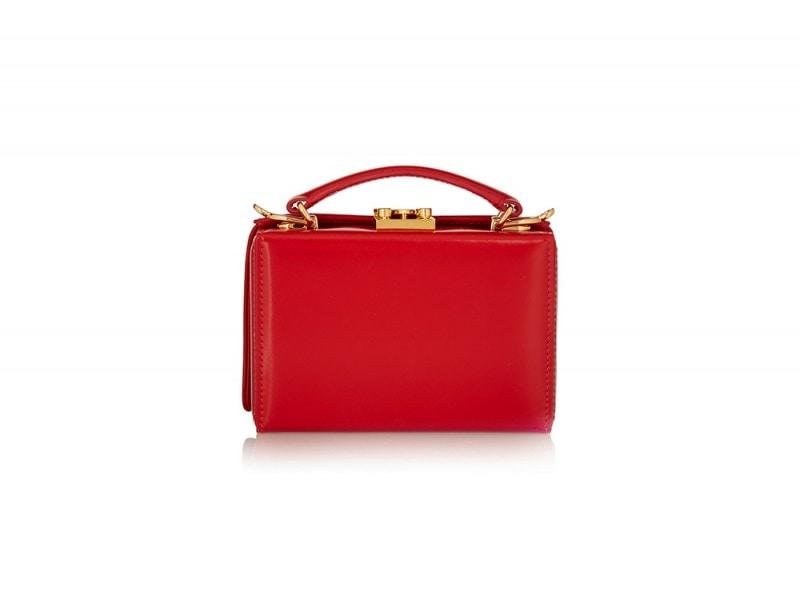 borsa rossa mark cross