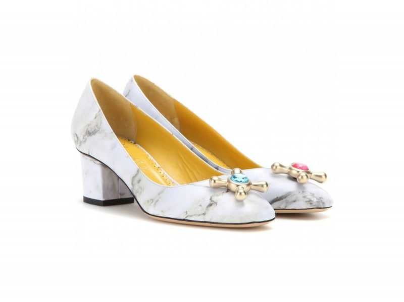 charlotte olympia stampa marmo