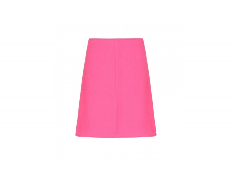 courreges mini gonna rosa