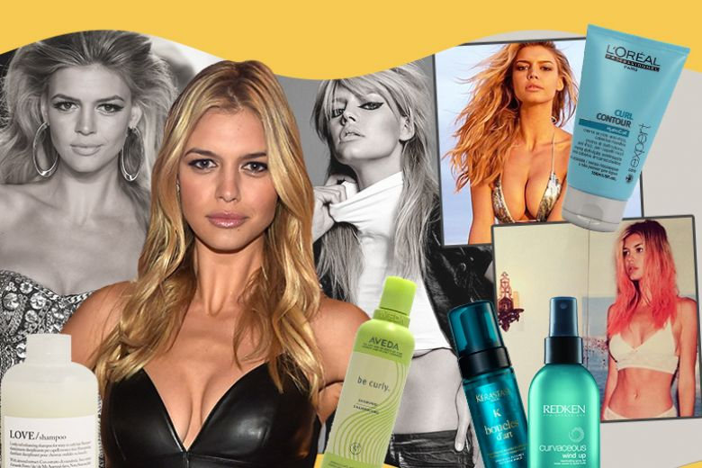 Kelly Rohrbach: il suo beauty style con capelli biondi e beach waves