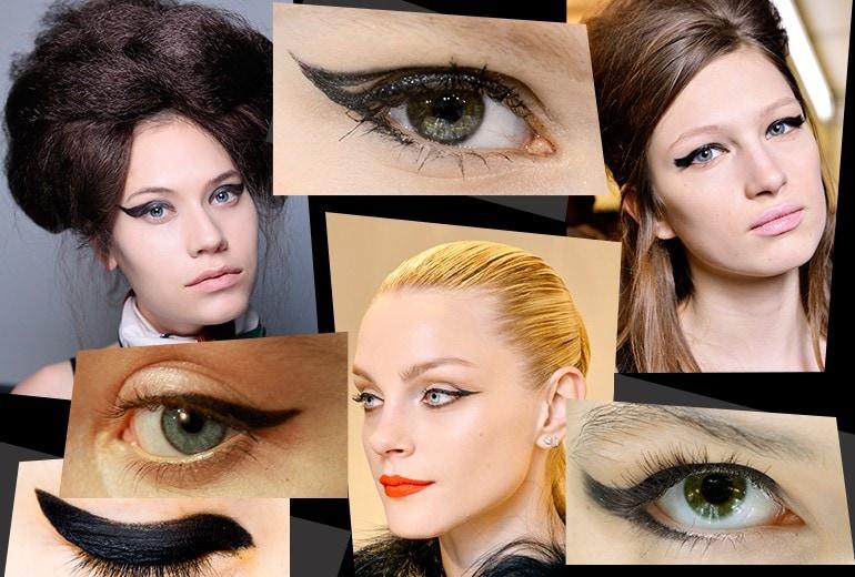 Cat Eyes make up: le tendenze eyeliner per l'Autunno-Inverno