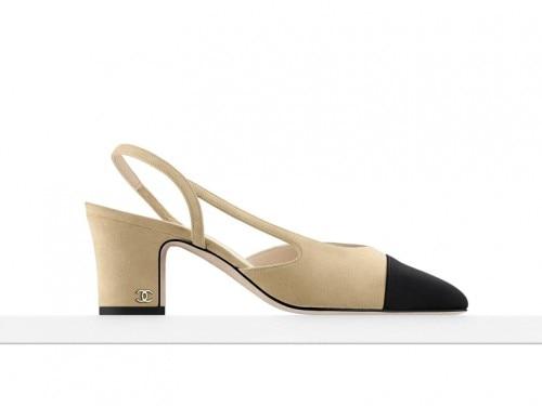 quality design 67408 f7cb7 La vera scarpa-icona? La slingback bicolore di Chanel ...