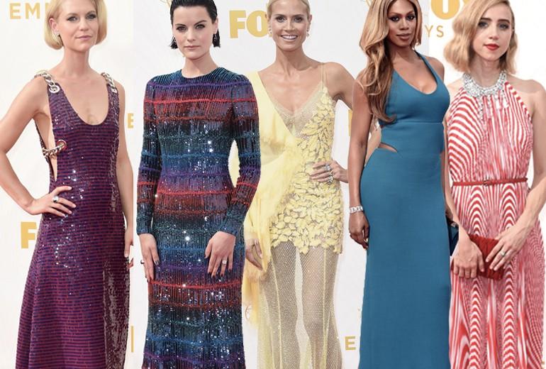 Emmy Awards 2015: tutti gli abiti delle star