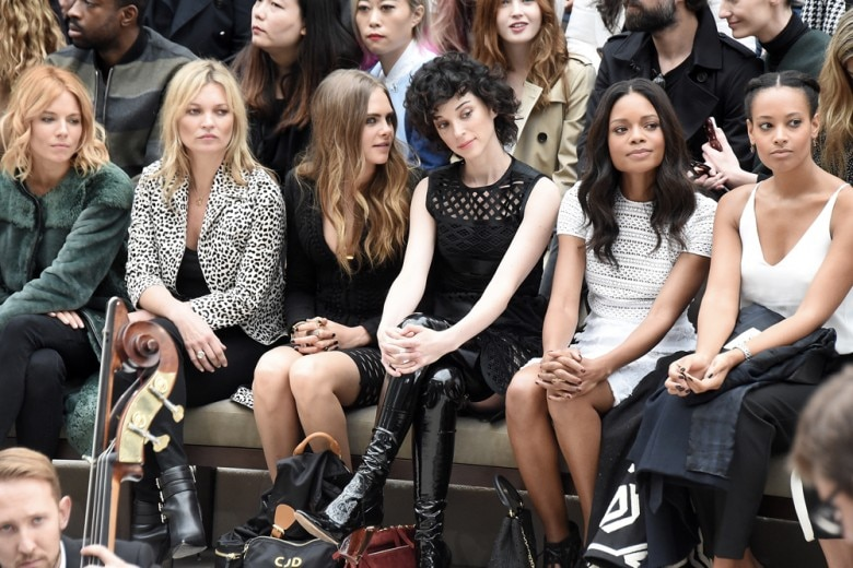 London Fashion Week: le celeb in front row