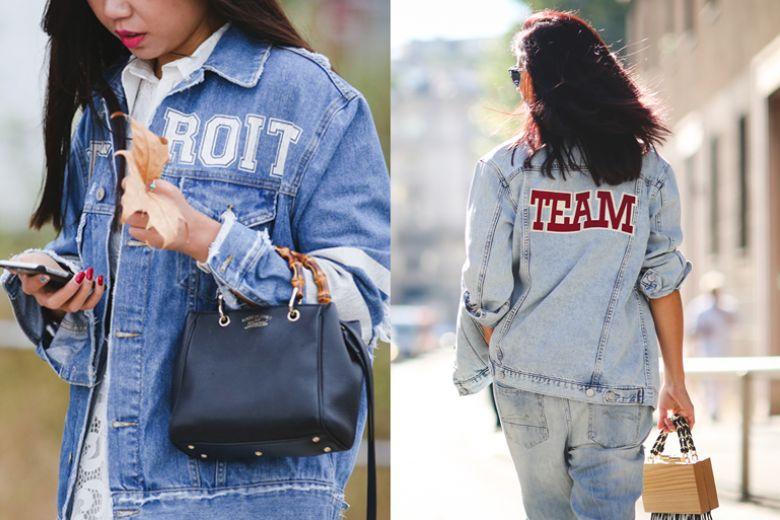Street style trend: la giacca in jeans (personalizzata) per l'Autunno 2015