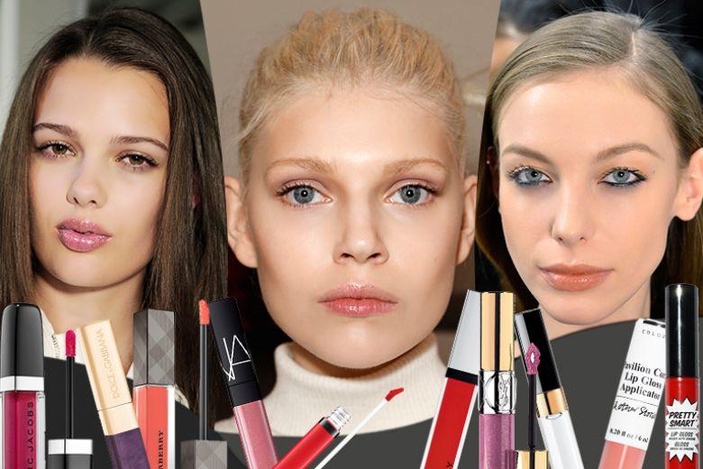 Lipgloss: tutte le novità lucidalabbra per l'autunno 2015