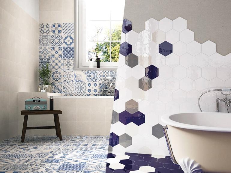 rivestimenti per il bagno: 10 idee decor da copiare - grazia.it - Bagno Rivestimenti Idee
