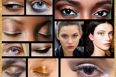 Trucco occhi metallico: il make up a tutta luce del momento