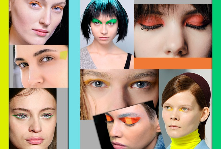 Make up occhi: un'esplosione di colori vitaminici per l'Autunno-Inverno
