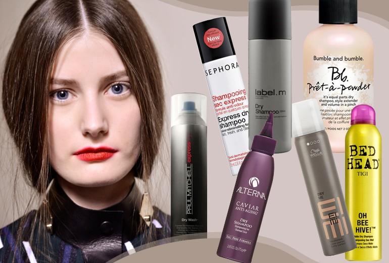 Shampoo secco: i prodotti per capelli sempre puliti e voluminosi