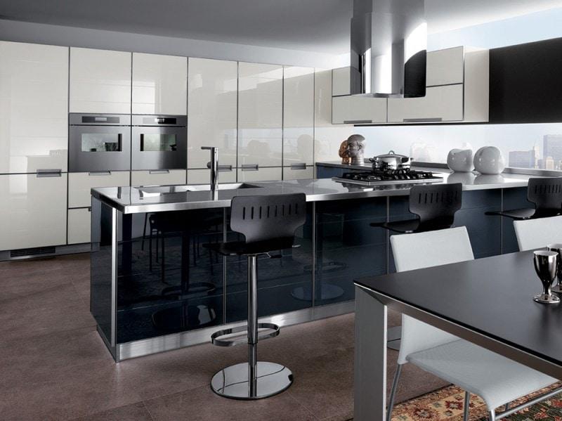 scavolini: le più belle cucine moderne - grazia.it - Cucine Moderne Bianche E Nere
