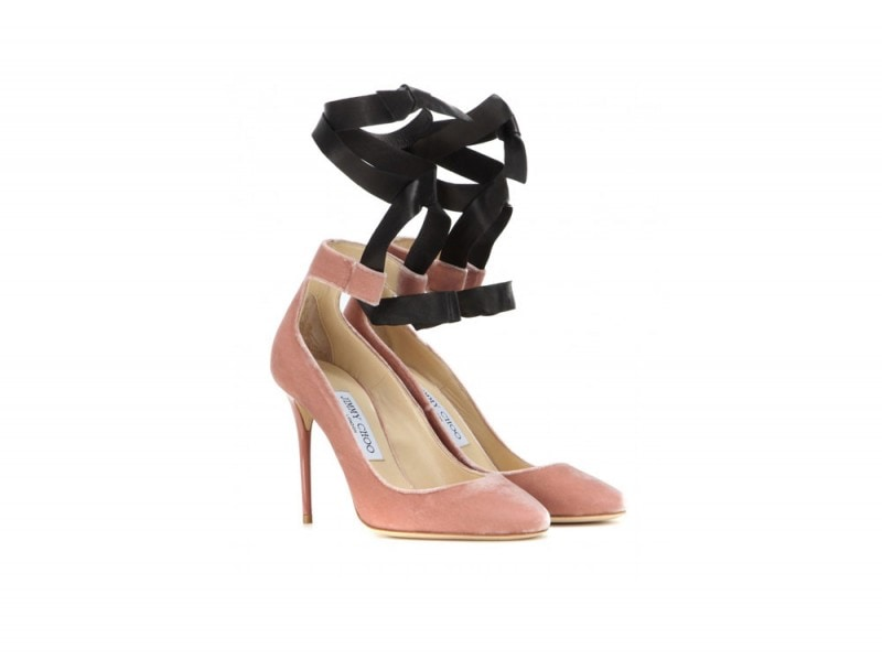 decollete-jimmy-choo-velluto-rosa