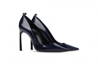decollete lanvin blu navy