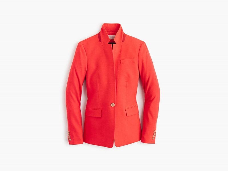giacca rossa j crew