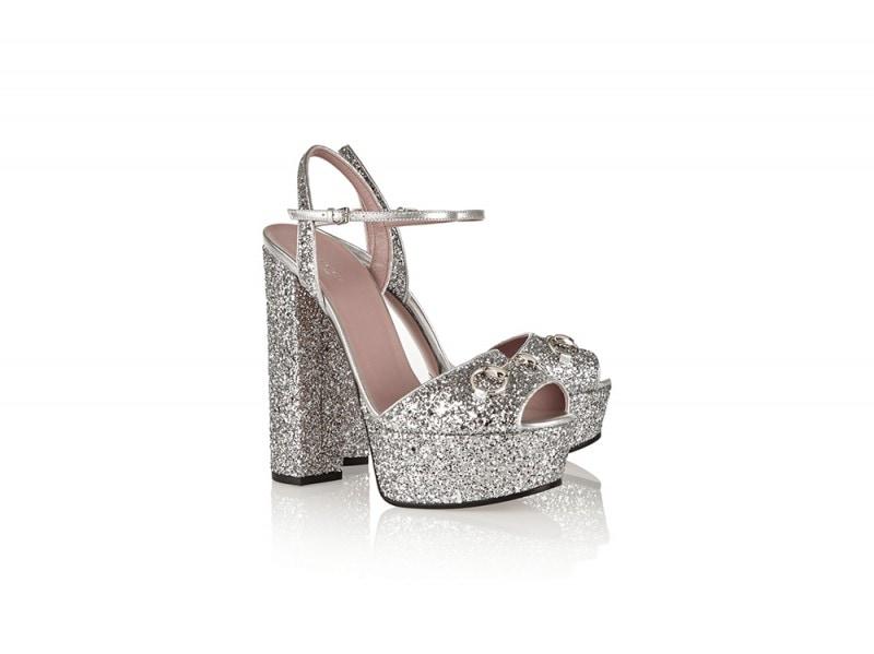 gucci sandali glitter