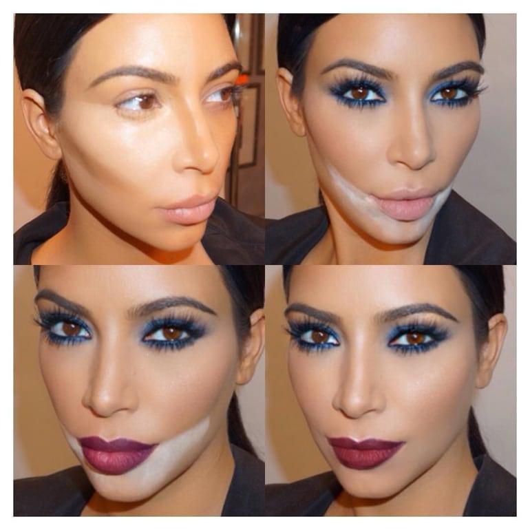 kim-kardashian-contouring-instagram
