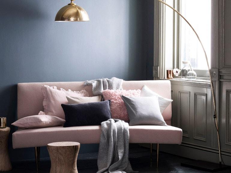 l rosa confetto di H&M Home