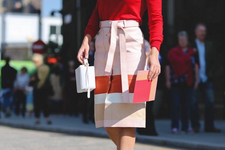 Street style trend: la gonna in pelle