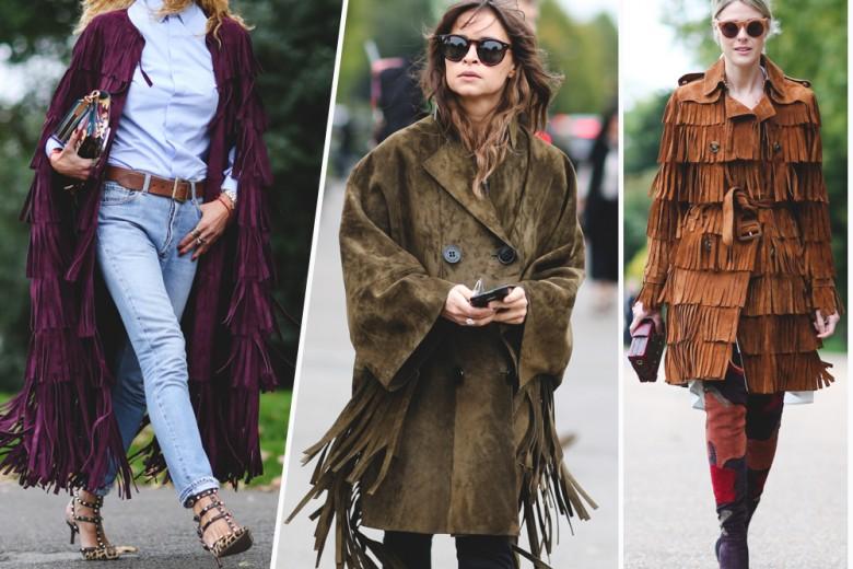 Street trend: la giacca con le frange