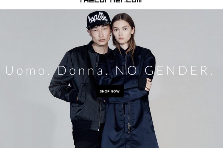 Thecorner.com si rifà il look e inaugura la sezione No Gender