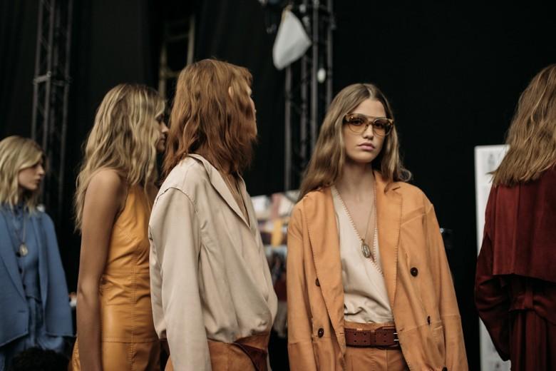 Trussardi: la collezione PE 2016 vista dal backstage