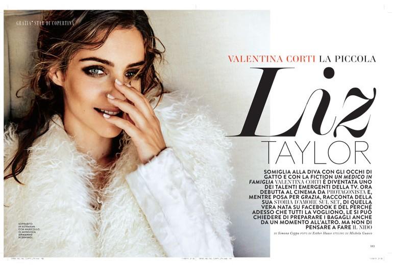 Valentina Corti, la piccola Liz Taylor