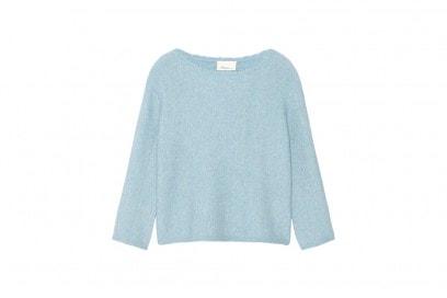 3.1 philp lim maglia cropp azzurra