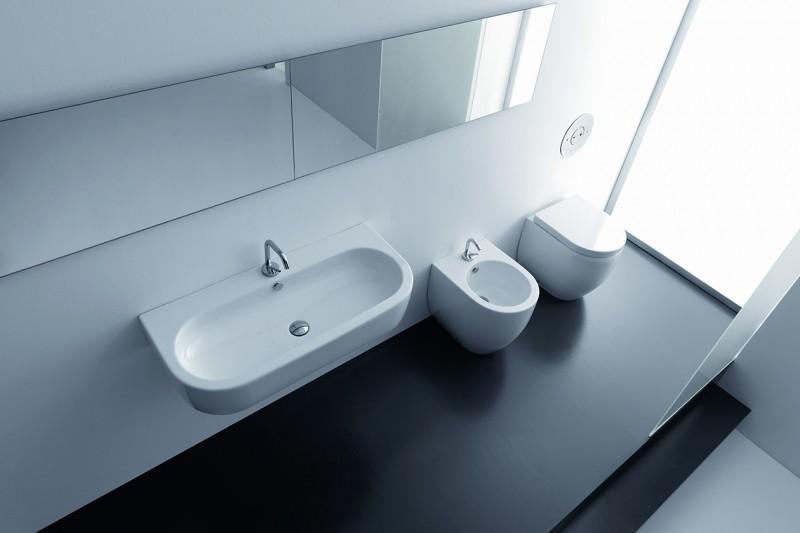 Design per bagni piccoli: i sanitari salvaspazio - Grazia.it