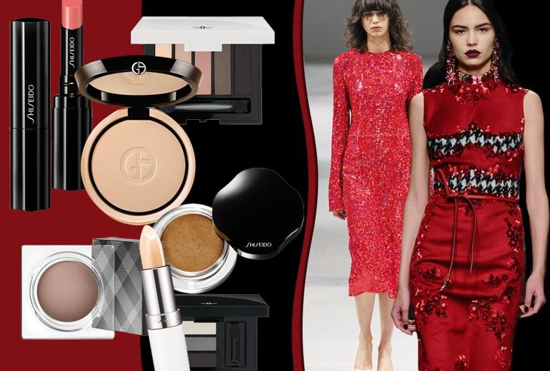 Abiti rossi: il make up più cool da abbinare