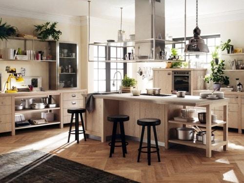 Cucine con piano di lavoro in legno: i modelli più belli ...