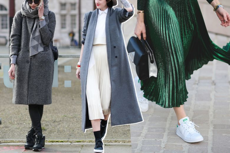 Sneakers d'inverno? 4 look da copiare