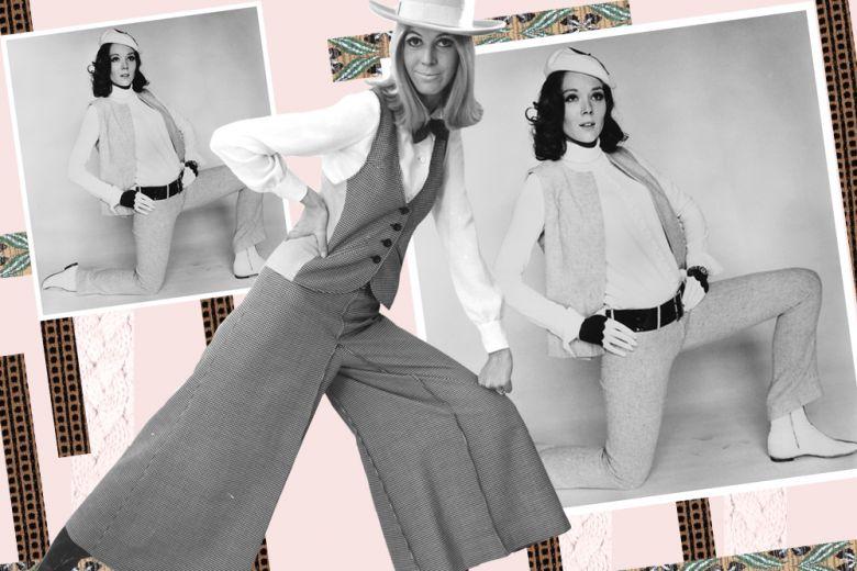 Gilet e pantaloni a zampa: come abbinarli per l'autunno 2015