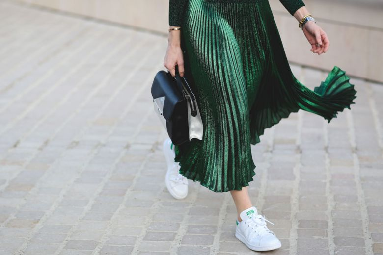 Shiny skirts: shop the trend!