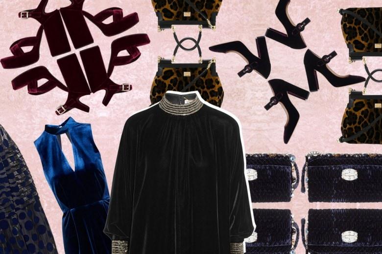 Velluto: i capi e gli accessori per l'Autunno-Inverno 2015/16