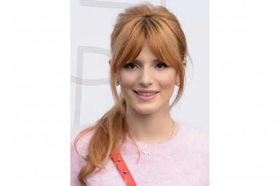 Frangia a tendina Bella Thorne