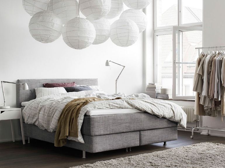 Grigio, bianco e tortora di Ikea