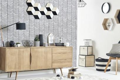 Grigio, nero e legno con Maisons Du Monde