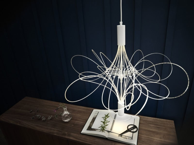 Il lampadario ALVSBYN