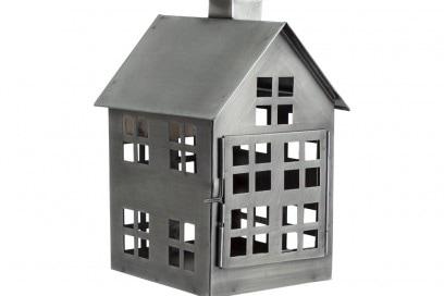 Lanterna in metallo a forma di casetta H&M Home