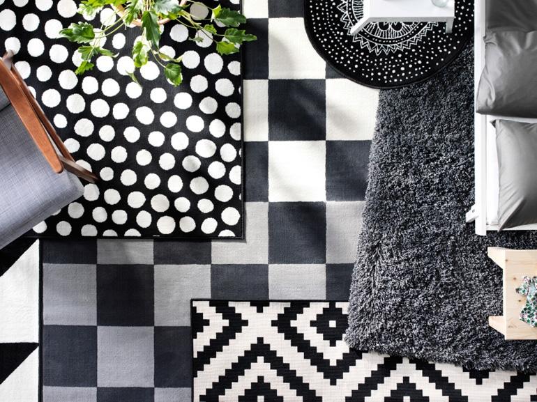 Mix geometrico grigio di Ikea