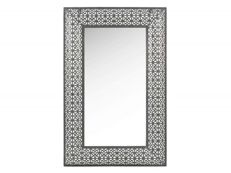 Specchio nero in metallo