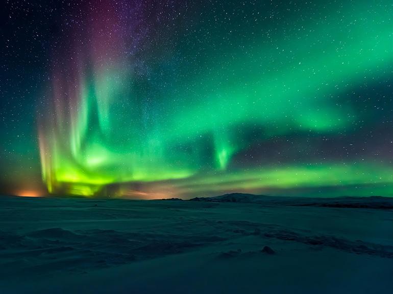 aurora boreale scandinavia
