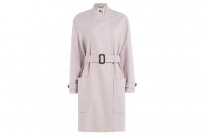 burberry london cappotto lilla