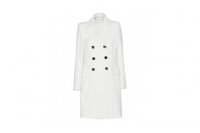 cappotto bianco isabel marant etoile