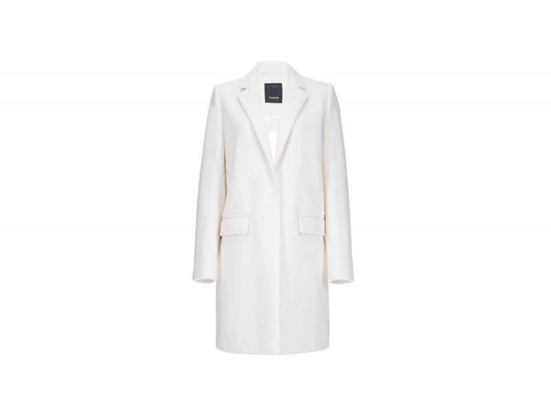 cappotto bianco pinko