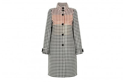cappotto check bottega veneta