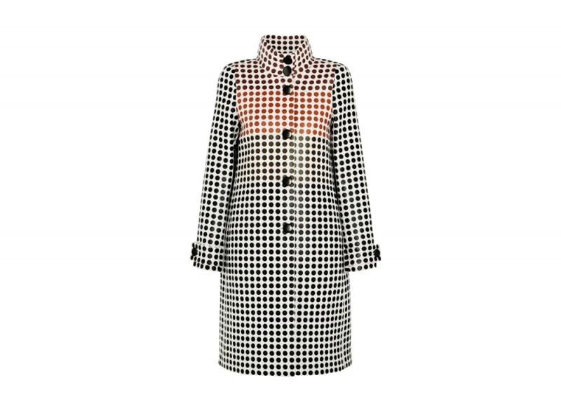 cappotto check bottega veneta