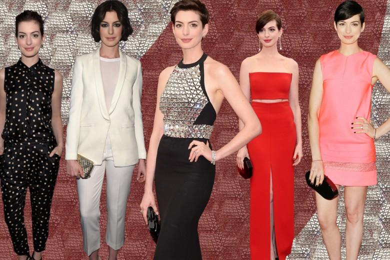 I migliori look di Anne Hathaway